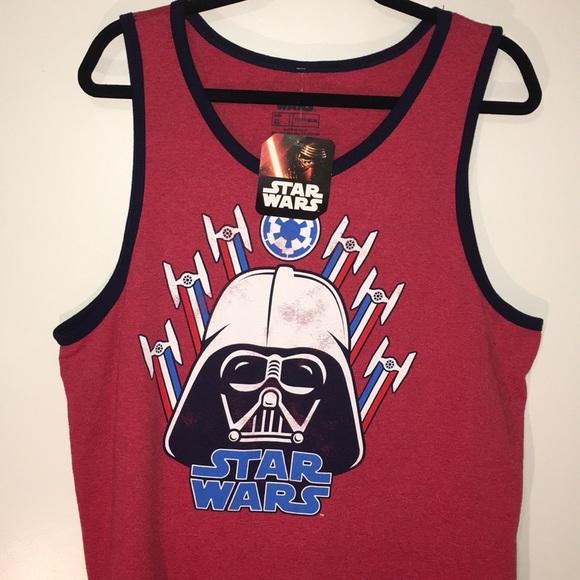 ac0abc2248e76 Men s Star Wars Darth Muscle Tank. NWT. Disney